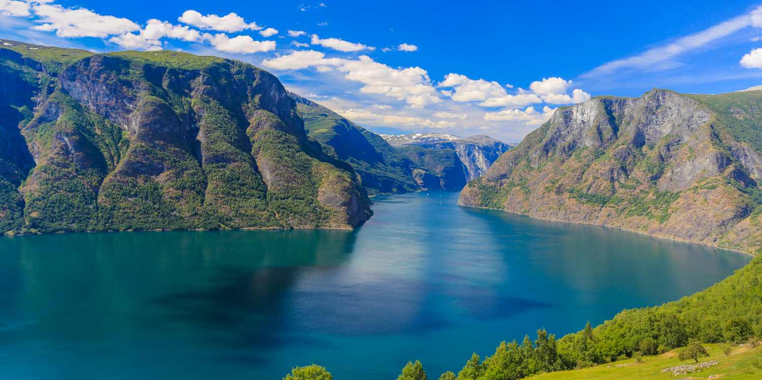 What is a fjord - Aurlandsfjorden