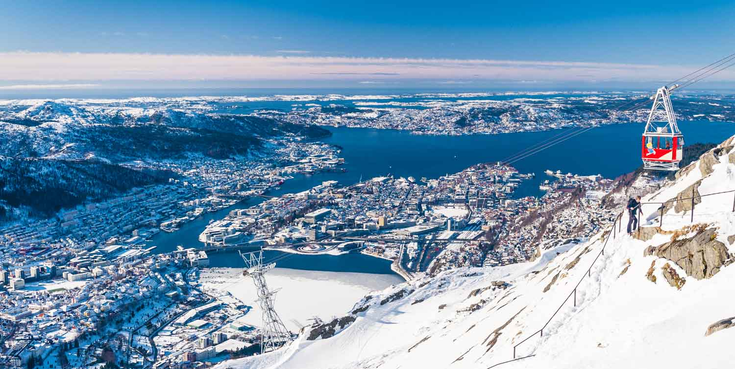 Winter in Bergen - Ulriken