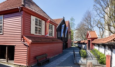 The Hanseatic Museum and Schøtstuene - outside