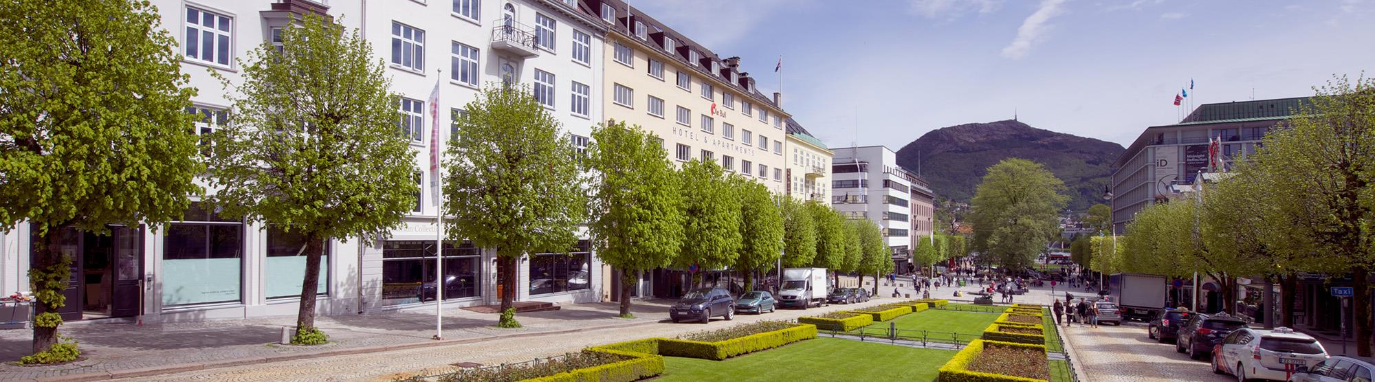 Hotels in Bergen city center