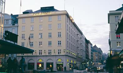 Thon Hotel Bristol - Right in the center off Bergen
