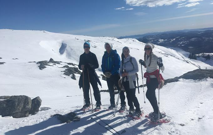 Guided Snowshoe walk