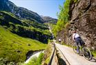 Cycling the Flåm valley